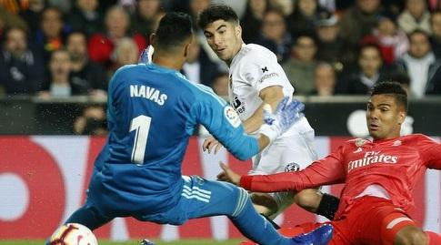 קיילור נבאס לוקח את הכדור (La Liga)