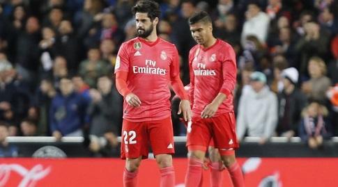 קאסמירו ואיסקו מאוכזבים (La Liga)