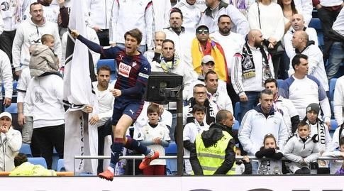 מארק קרדונה חוגג (La Liga)