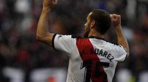 מריו סוארס חוגג (La Liga)