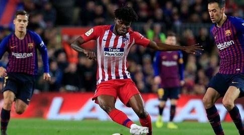 תומאס פארטה עם הכדור (La Liga)