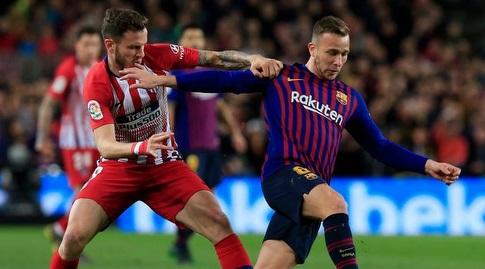 ארתור מנסה להשתחרר (La Liga)