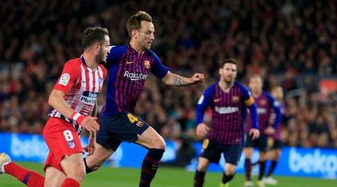 איבן ראקיטיץ' יוצא קדימה (La Liga)