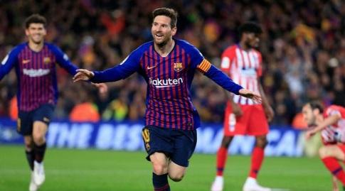 מסי חוגג (La Liga)