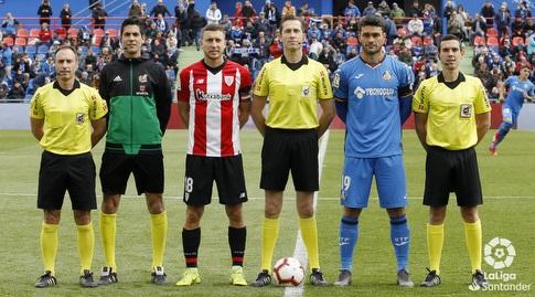 השופטים והקפטנים של בילבאו וחטאפה (La Liga)
