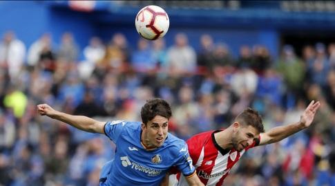 חיימה מאטה נוגח בכדור (La Liga)