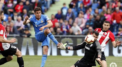 חיימה מאטה בועט החוצה מול הררין (La Liga)