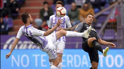 וויסאם בן יידר נלחם על הכדור (La Liga)