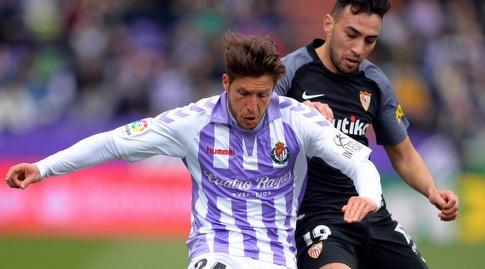 מוניר אל חדאדי וקקו נלחמים על הכדור (La Liga)