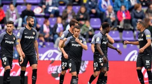 שחקני סביליה מאוכזבים (La Liga)