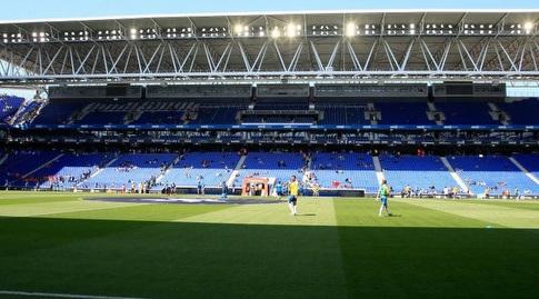 אצטדיון קורנייה לה פראט מוכן (La Liga)