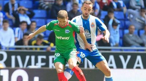 סרג'י דארדר במאבק עם ברשאנץ  (La Liga)