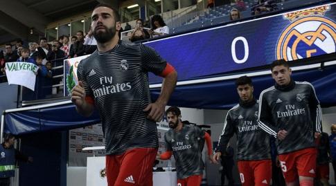 דני קרבחאל עולה להתחמם (La Liga)