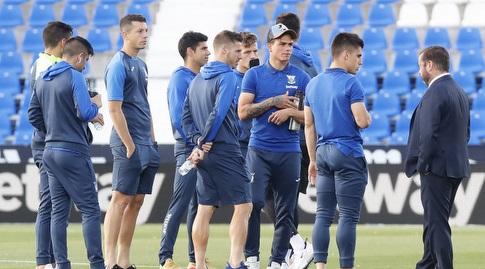 שחקני לגאנס בבוטארקה (La Liga)