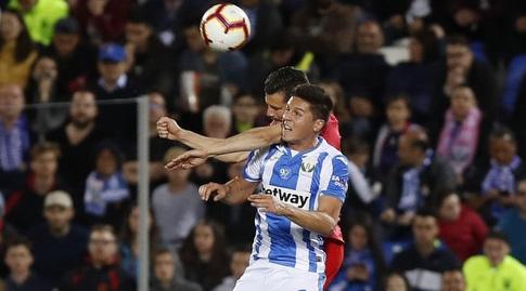 נאצ'ו מנסה לנגוח (La Liga)