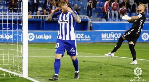 יון גידטי חוגג, יואל רודריגס מאוכזב (La Liga)