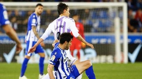 מאנו גארסיה נאבק עם אנס אונאל (La Liga)
