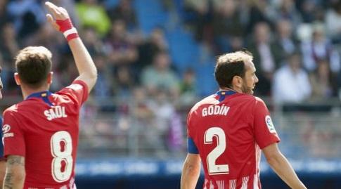 דייגו גודין וסאול  (La Liga)