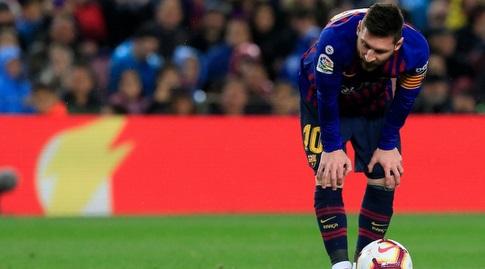ליאו מסי לפני הכדור (La Liga)