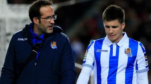 איגור סובלדיאה יורד מהמגרש (La Liga)