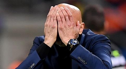 לוצ'אנו ספאלטי מאוכזב. רצה לנצח (רויטרס)