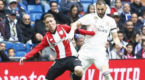 קארים בנזמה עם איקר מוניאין (La Liga)