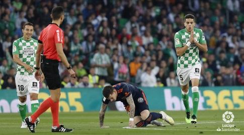 סאנטי מינה על הדשא (La Liga)