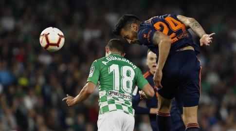 אסקייל גאראי נוגח מול אנדרס גוורדאדו (La Liga)