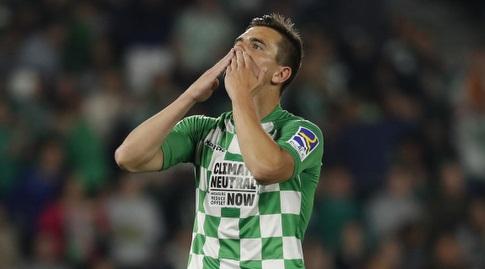 ג'ובאני לו סלסו חוגג (La Liga)