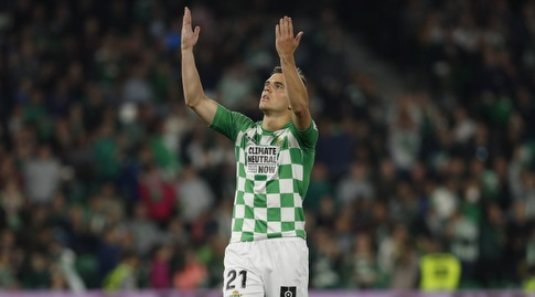 ג'ובאני לו סלסו מאושר (La Liga)