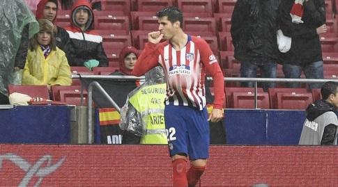 אלברו מוראטה חוגג (La Liga)