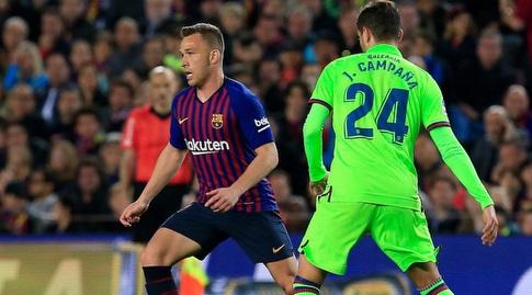 ארתור עם הכדור (La Liga)