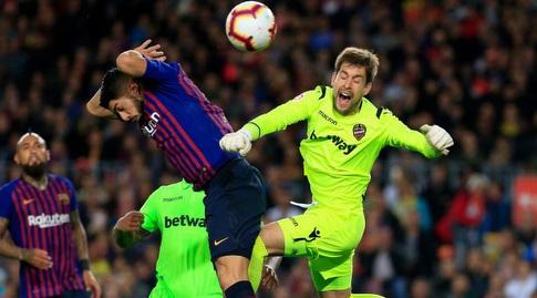 אייטור פרננדס מול לואיס סוארס (La Liga)
