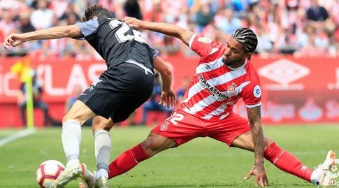דוגלאס לואיס מתקל את פרנקו ואסקס (La Liga)