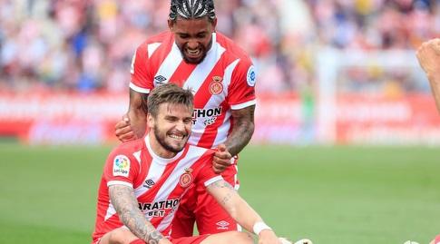 פורטו ודוגלאס לואיס חוגגים (La Liga)