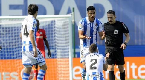 יוסבה סלדואה ומיקל מרינו (La Liga)