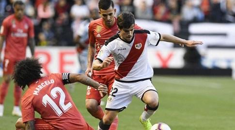 חוסה אנחל פוצו עם הכדור (La Liga)