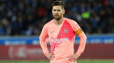 ליאו מסי. חסרונו הורגש (La Liga)