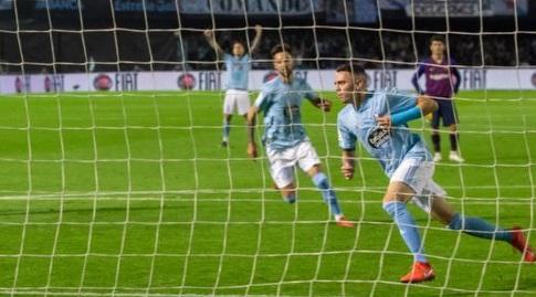 יאגו אספאס רץ לחגוג (La Liga)