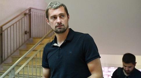גבריאל תאמאש בבית המשפט (חגי מיכאלי)
