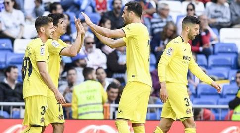 שחקני ויאריאל חוגגים. יחגגו מחר הישארות? (La Liga)