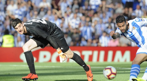וויליאן ז'וזה מול טיבו קורטואה (La Liga)