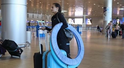 אשרם והחישוקים בשדה התעופה (אחמד מוררה)