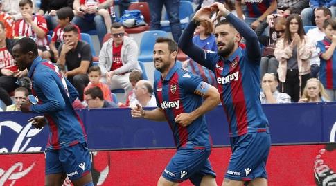 אריק קבאקו חוגג (La Liga)