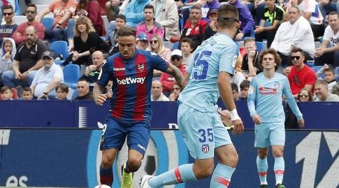 רוז'ר מרטי עם הכדור (La Liga)