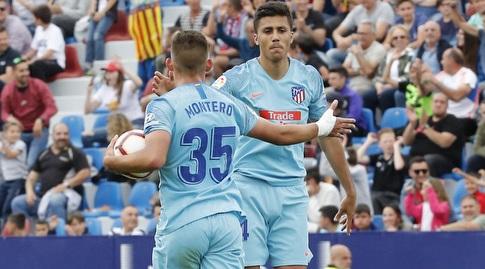 רודרי הרננדס חוגג עם פרנסיסקו מונטרו (La Liga)