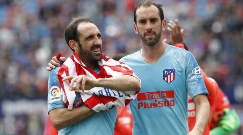 דייגו גודין עם חואנפראן בסיום (La Liga)
