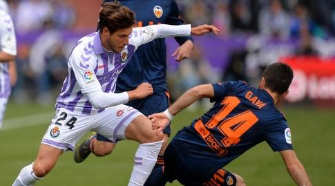 חוסה גאיה גולש אל עבר הכדור (La Liga)