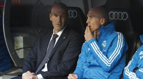 זינדין זידאן על הספסל (La Liga)
