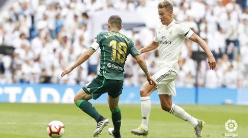 אנדרס גוורדאדו שומר על מרקוס יורנטה (La Liga)